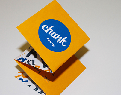 Chank Fonts Drink Tickets