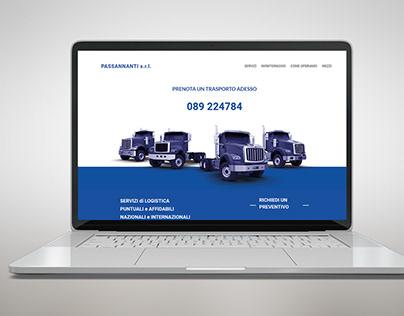 Passannani | Logistic Web site