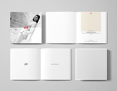 PUBLICATION DESIGN - H&M LOOKBOOK