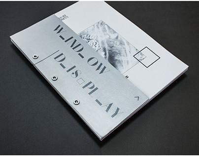 Bergdorf Goodman Window Display / Print Piece