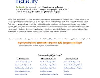 Inclusive Communities Flyers