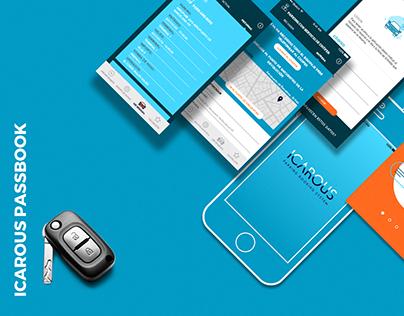 Diseño de plataforma digital ICAROUS