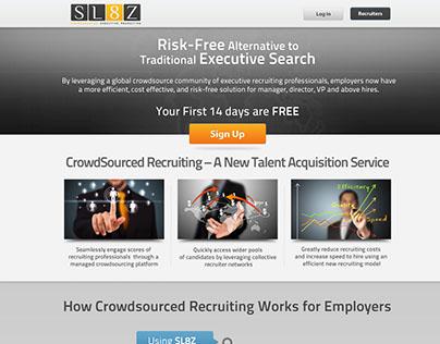 SL8Z - Crowd-sourced recruiting platform
