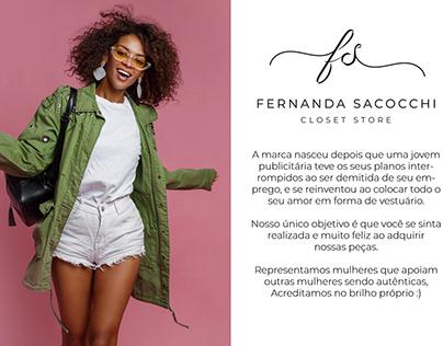 Fernanda Sacocchi Closet Store
