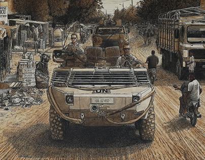 Dutch Patrol in Gao