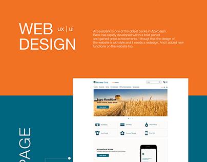 AccessBank | UX / UI Design | Web Design | App Design