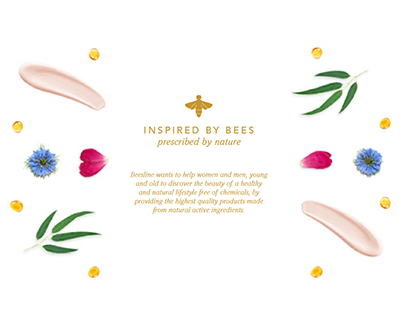 Beesline – natural cosmetics e-commerce design