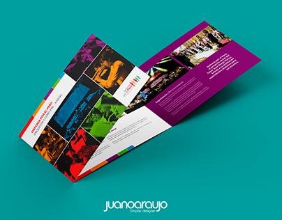 Brochure Institucional Sinfonía por el Perú