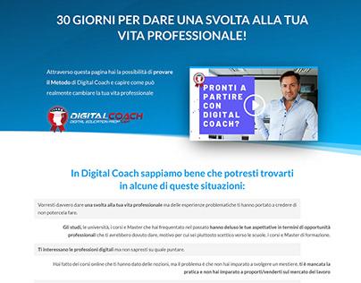 Ux e Visual Content Manager per Digital Coach