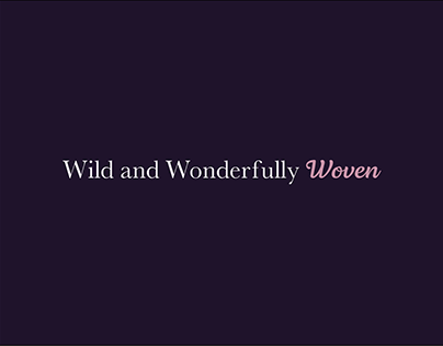 Wild and Wonderfully Woven Logo