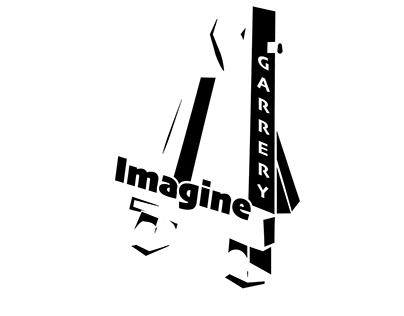 black and white logo design
