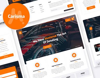 Carisma - Car Wash Website Template