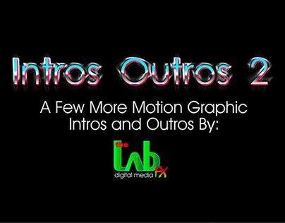 After Effects - Intros / Outros 2 video 2:08