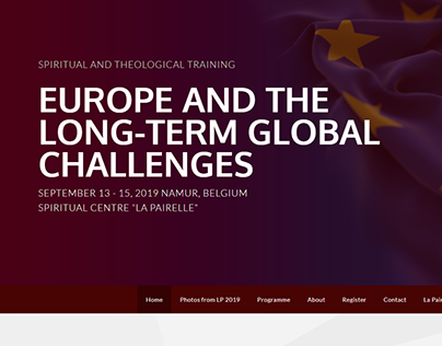 Passion for Europe /Event webpage