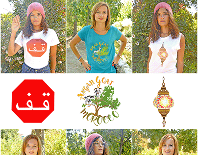 Morocco inspired T-Shirts Design