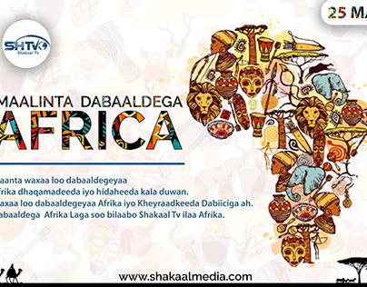 HAPPY AFRICA DAY // MAALINTA DABAALDEGA AFRICA