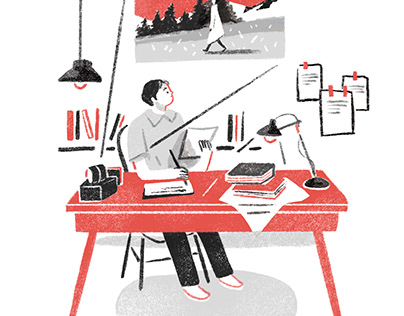 Lessons from Movies | Editorial Illustration