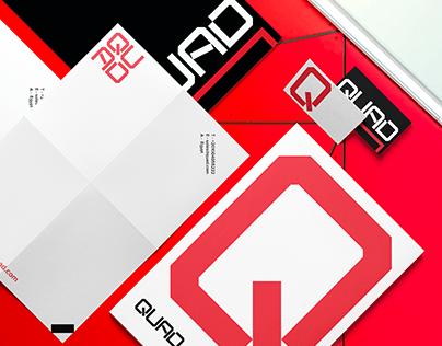 Quad Brand Identity Design.