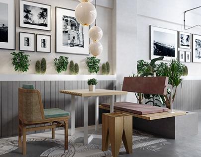 All Day Coffee Bar Restaurant Interior Design