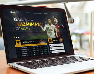 Online Bet - Web Site Design