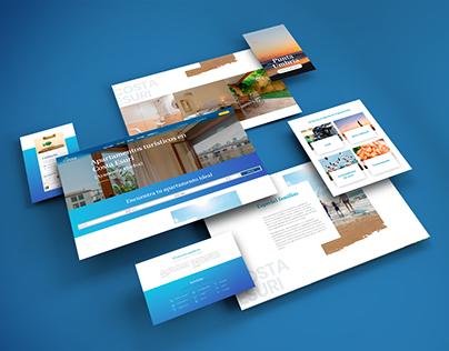 Diseño web - Apartamentos turísticos