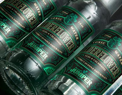 Juniper's Elderflower Tonic Water