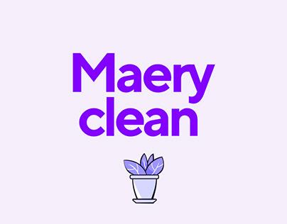 Maery Clean. Logo&Site.