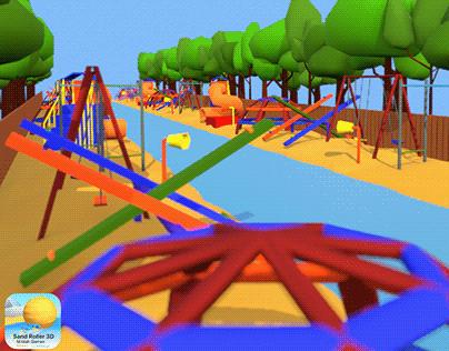 Sand Roller 3D - Park Environment