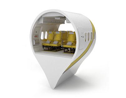 Nesma Airlines Location ikon