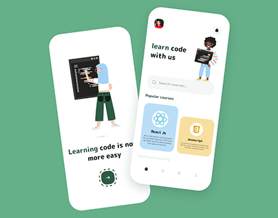 learning code Mobile App Exploration