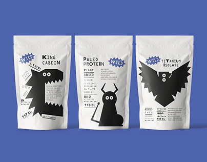 WILD   packaging