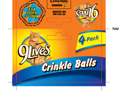 Package Design - Pet Brands, Inc. - 9Lives Licensee