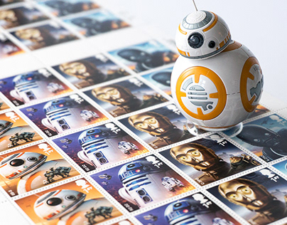 ROYAL MAIL Star Wars Stamps 2017