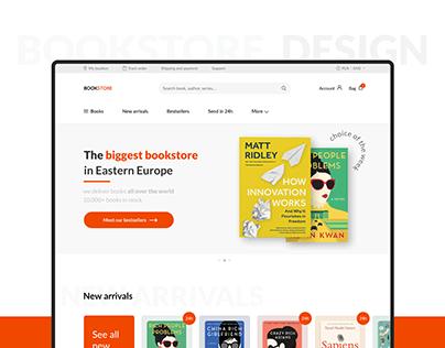 Online BookStore – UX/UI concept