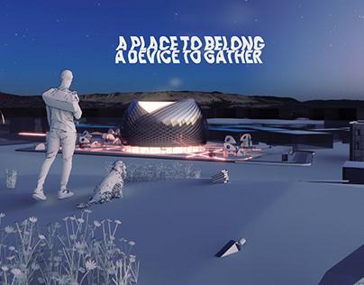 Best Design 2nd Place AP2021: A PLACE TO BELONG...