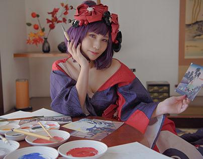 cosplay * Fate Grand Order * 葛飾北斎