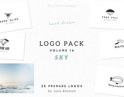 Logo Pack Volume 14. Sky