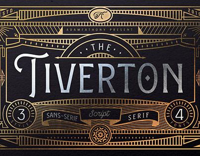 Tiverton - Vintage Font Trio