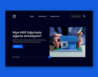 National Insurance Company Website UX/UI