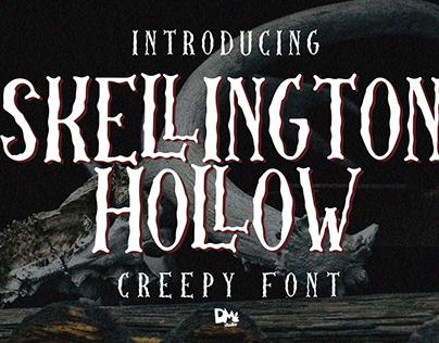 Skellington Hollow - Creepy Font