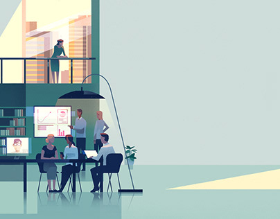 Euromoney Learning Website Illustration
