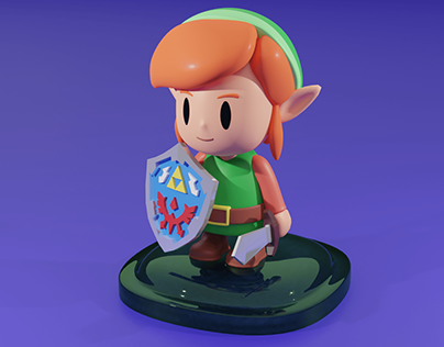 Zelda Characters Blender