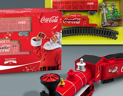Coca-Cola Mexico - Collectible Electronic Train