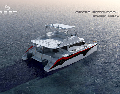 Customized catalogue design for boatbuilding company