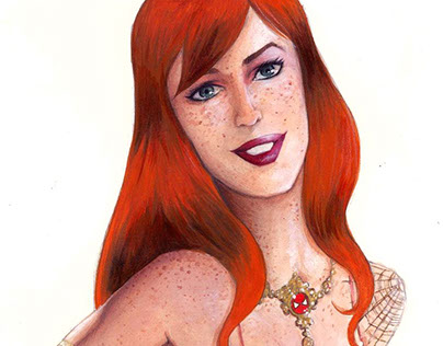 Mary Jane pinup