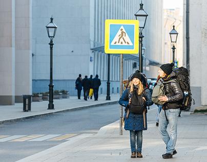 "Moscow program ""My Street"" - Starovagankovsky lane"