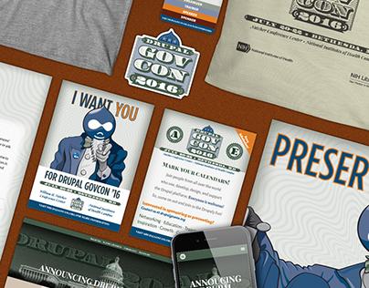 Drupal GovCon 2016 Branding and Design
