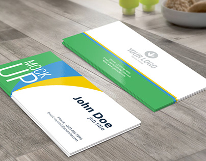 Business card psd file free download