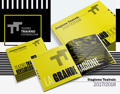TEATRO TRAIANO SEASONAL (BROCHURE DESIGN)