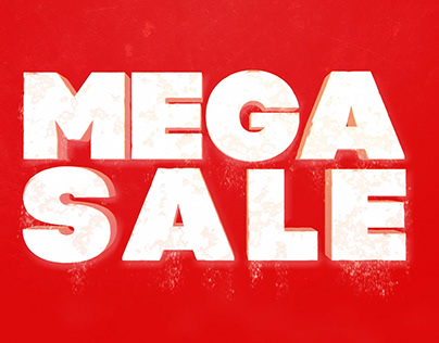 Mega sale animtion